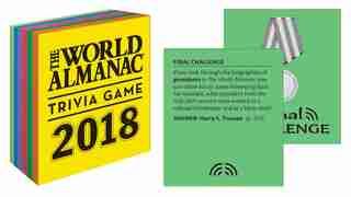 The World Almanac 2018 Trivia Game de Sarah Janssen