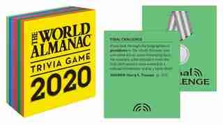 The World Almanac 2020 Trivia Game de Sarah Janssen