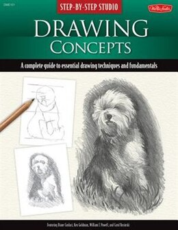 Book Step-by-step Studio: Drawing Concepts: A Complete Guide To Essential Drawing Techniques And… by Diane Cardaci