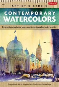 Book Contemporary Watercolors: A Guide To Current Materials, Mediums, And Techniques by Winsor & Newton Watercolor Artists