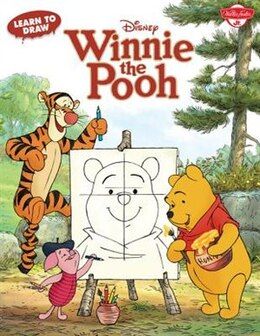 Book Learn To Draw Disney's Winnie The Pooh: Featuring Tigger, Eeyore, Piglet, And Other Favorite… by Disney Storybook Artists