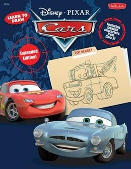 Book Learn To Draw Disney/pixar's Cars: Expanded Edition! Featuring favorite characters from Cars 2! by Disney Storybook Artists