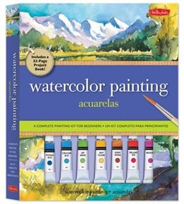 Book Watercolor Painting Kit: A complete painting kit for beginners by Joseph Stoddard