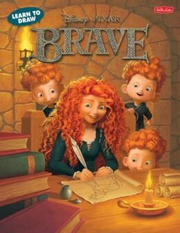 Book Learn To Draw Disney Pixar's Brave: Featuring Favorite Characters From The Disney/pixar Film… by Disney Storybook Artists