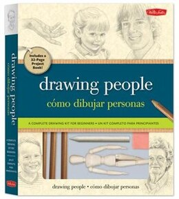 Book Drawing People Kit: A complete drawing kit for beginners by Debra Kauffman Yaun