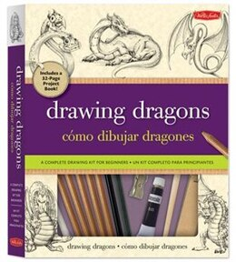 Book Drawing Dragons Kit: A complete drawing kit for beginners by Michael Dobrzycki