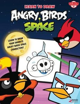 Book Learn To Draw Angry Birds Space: Learn To Draw All Your Favorite Angry Birds And Those Bad Piggies… by Walter Foster Creative Team