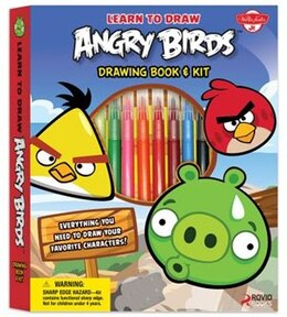 Book Learn To Draw Angry Birds Drawing Book & Kit: Includes Everything You Need To Draw Your Favorite… by Walter Foster Creative Team