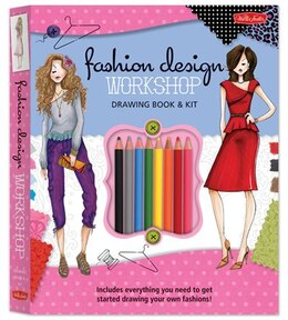 Book Fashion Design Workshop Drawing Book & Kit: Includes Everything You Need To Get Started Drawing… by Stephanie Corfee