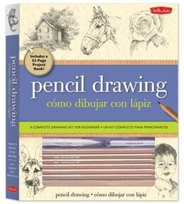 Book Pencil Drawing Kit: A Complete Kit For Beginners by Michael Butkus