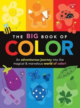 Book The Big Book Of Color: An Adventurous Journey Into The Magical & Marvelous World Of Color! by Lisa Martin