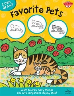 Book Favorite Pets: Learn To Draw Furry Friends And Cute Companions Step By Step! by Walter Foster Jr. Creative Team