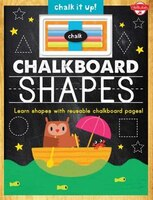 Chalkboard Shapes: Learn Your Shapes With Reusable Chalkboard Pages!