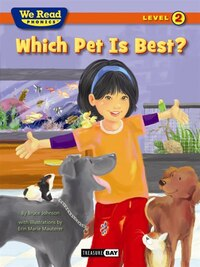 We Read Phonics:Which Pet is Best Lev.2