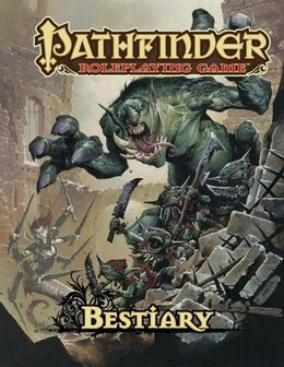Book Pathfinder Roleplaying Game: Bestiary 1 by Jason Bulmahn