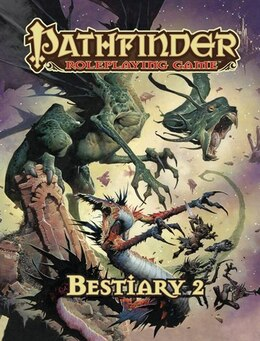 Book Pathfinder Roleplaying Game: Bestiary 2 by Paizo Staff