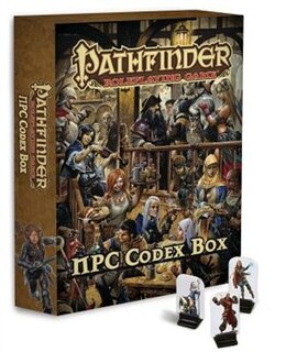 Book Pathfinder Roleplaying Game: Npc Codex Box by Jason Bulmahn