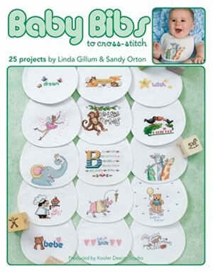 Baby Bibs To Cross-Stitch by Leisure Arts