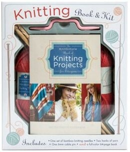 Book KNITTING BOOK & KIT by Of Knit Simp Editors