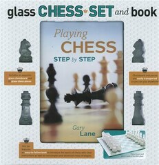 GLASS CHESS KIT