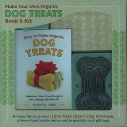 Book MAKE YOUR OWN DOG BISCUITS BOOK & KIT by R. Jones Sheryn