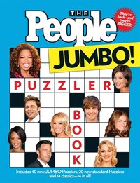 The People Puzzler Book: Jumbo Edition
