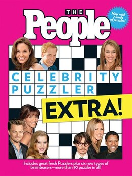 Book The People Celebrity Puzzler Extra! by Editors Of People Magazine
