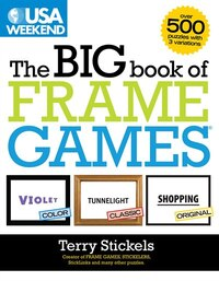 Usa Weekend The Big Book Of Frame Games