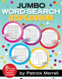 Jumbo Word Search Explosion