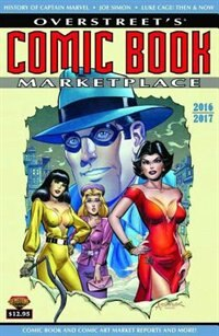 Overstreets Comic Book Marketplace Yearbook 2016 2017