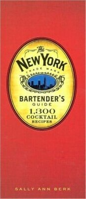 Book New York Bartenders Guide by Sally Ann Berk