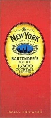 Book New York Bartenders Guide by Sally Ann Berk