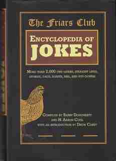 Friar's Club Encyclopedia Of Jokes by Dougherty Barry