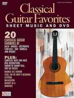 Classical Guitar Favorites: Sheet Music and DVD by Danny Gill