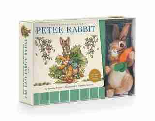 The Peter Rabbit Plush Gift Set: The Classic Edition Board Book + Plush Stuffed Animal Toy Rabbit Gift Set (fun Gift Set, Holiday Tr by Beatrix Potter