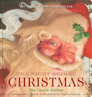 The Night Before Christmas Oversized Padded Board Book: The Classic Edition, The New York Times…