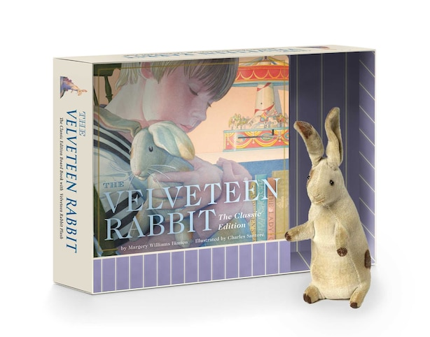 The Velveteen Rabbit Plush Gift Set: The Classic Edition Board Book + Plush Stuffed Animal Toy Rabbit Gift Set by Margery Williams