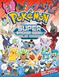 Pokemon Super Sticker Book: Kalos Region