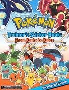 Pokémon Trainer's Sticker Book: From Kanto to Kalos