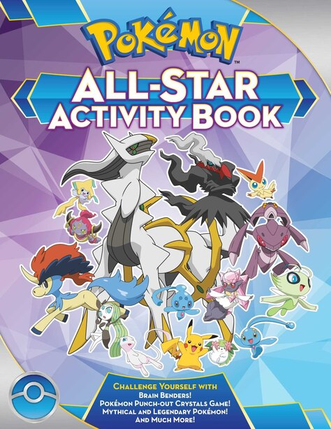 Pokémon All-Star Activity Book: Meet the Pokémon All-Stars-with Activities Featuring your Favorite Mythical and Legendary Pokémon! by Lawrence Neves