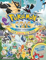 Pokémon Epic Sticker Collection: From Kanto to Alola