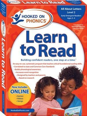 Hooked on Phonics Learn to Read - Level 2: All About Letters (Early Emergent Readers  Pre-K  Ages 3-4) by _ Hooked On Phonics.