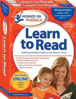 Hooked on Phonics Learn to Read - Levels 1&2 Complete: All About Letters (Early Emergent Readers…
