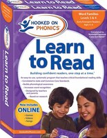 Hooked on Phonics Learn to Read - Levels 3&4 Complete: Word Families (Early Emergent Readers…