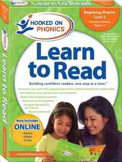 Hooked on Phonics Learn to Read - Level 5: Beginning Phonics (Emergent Readers  First Grade  Ages 6-7)