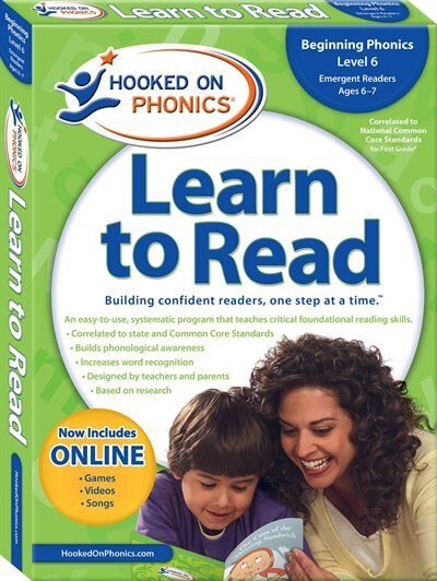 Hooked on Phonics Learn to Read - Level 6: Beginning Phonics (Emergent Readers  First Grade  Ages 6-7)