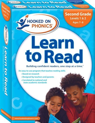 Hooked on Phonics Learn to Read - Second Grade: Levels 1&2 Complete (Ages 7-8) by Hooked On Phonics.