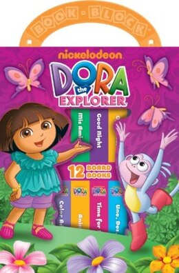 Book MY FIRST LIBRARY DORA THE EXPLORER by Int'l Publications