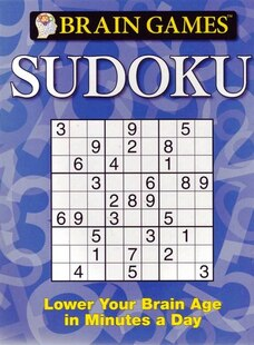 Brain Games Sudoku Blue