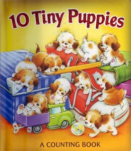 Book 10 Tiny Puppies by Publications International